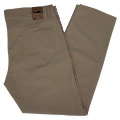 Pantalon subtire bej 10-19 xxlbigsize