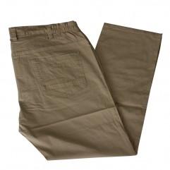 Pantalon subtire bej 10-28 xxlbigsize