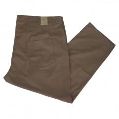 Pantalon subtire maro