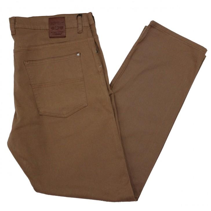 Pantalon subtire maro deschis