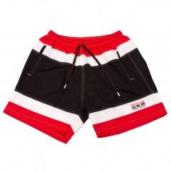 Pantalon scurt din fas tricolor 20-42 xxlbigsize