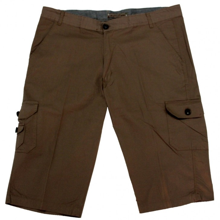 Pantalon trei sferturi bej