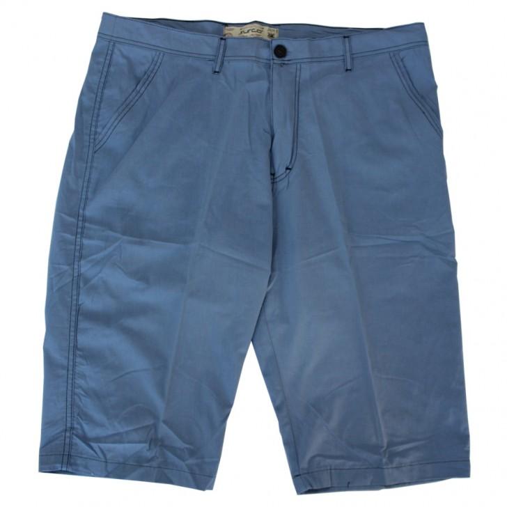 Pantalon trei sferturi bleu