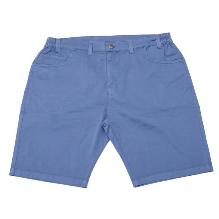 Pantalon trei sferturi bleu 20-38 xxlbigsize
