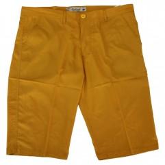 Pantalon trei sferturi galben