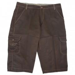 Pantalon trei sferturi maro 20-33 xxlbigsize