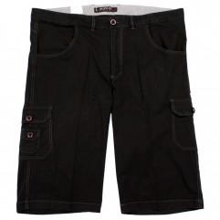 Pantalon trei sferturi negru