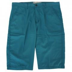 Pantalon trei sferturi turcoaz
