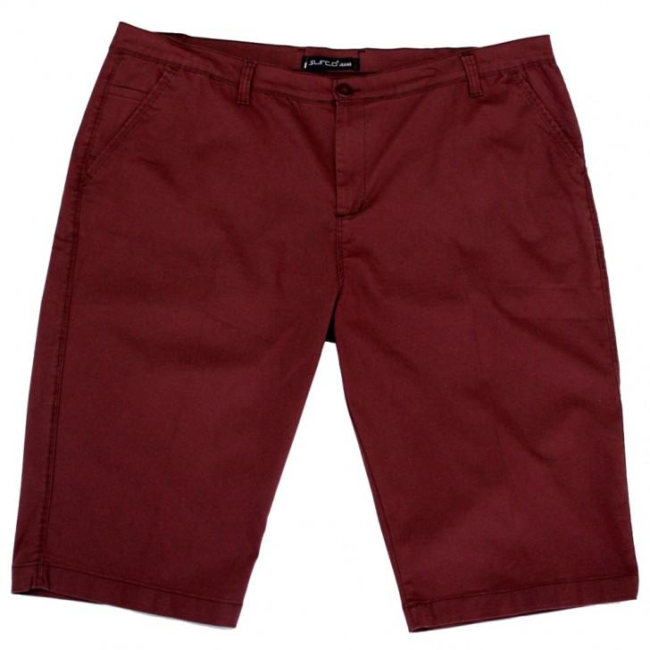 Pantalon trei sferturi visiniu