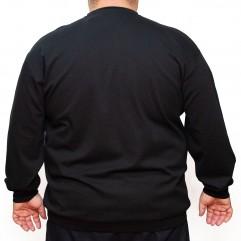 Bluza subtire neagra cu anchior 2XL-9XL