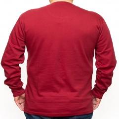 Bluza subtire rosie cu anchior 2XL-6XL