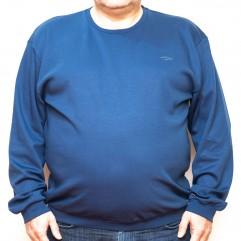 Bluza subtire albastra la baza gatului