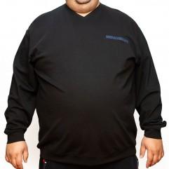 Bluza subtire neagra cu anchior