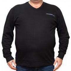 Bluza subtire neagra cu anchior 2XL-6XL