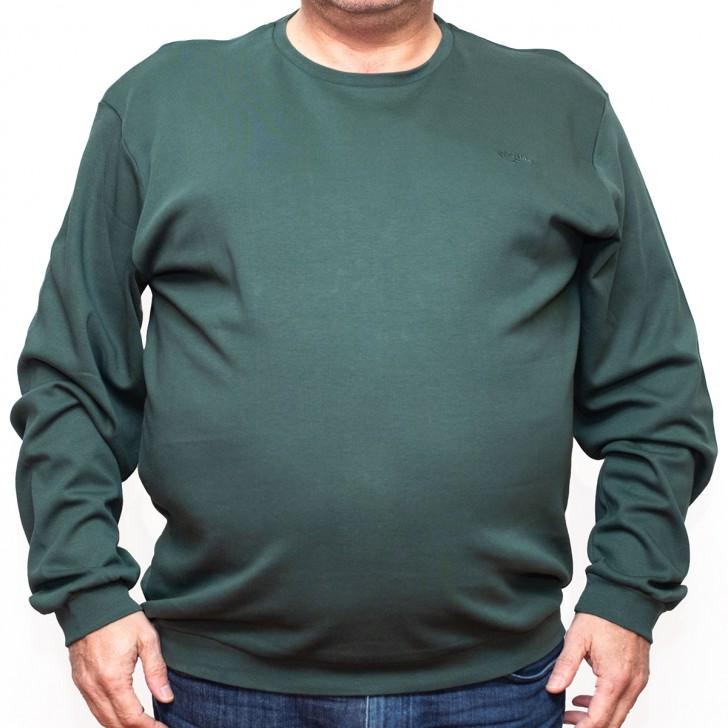 Bluza subtire verde la baza gatului 40-62 xxlbigsize
