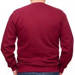 Bluza groasa visinie cu imprimeu la baza gatului 2XL-6XL