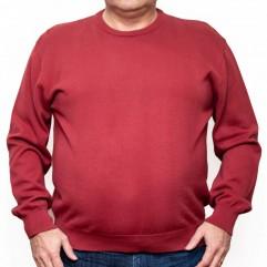 Pulover rosu la baza gatului - XXLBigSize