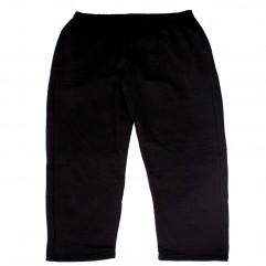 Pantalon trening negru vatuit