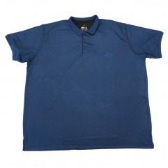Tricou bleumarin cu guler