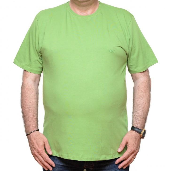 Tricou verde la baza gatului 70-113 xxlbigsize